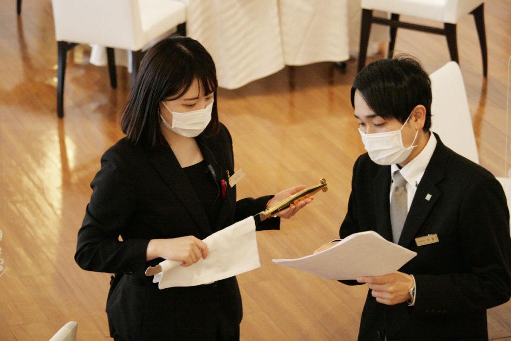 8/6模擬結婚式1-6島田先生
